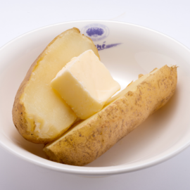 Buttered Furano Potato (May Queen)